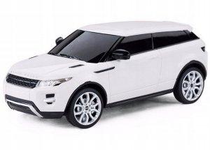 Range Rover Evoque 1:24, RTR (zasilanie na baterie AA) - Biały