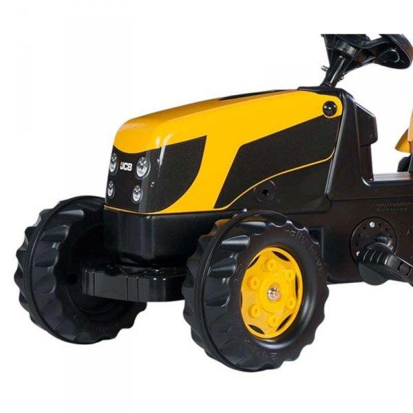 Rolly Toys rollyKid Traktor na pedały JCB z przyczepką 2-5 Lat
