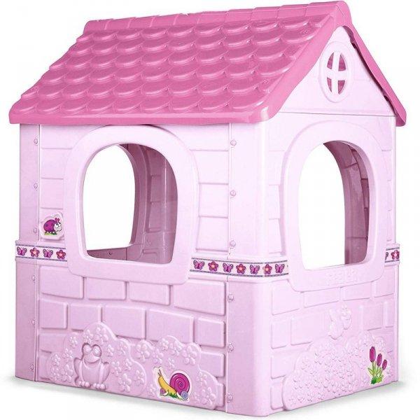 FEBER Domek Ogrodowy Dla Dzieci Różowy Fantasy