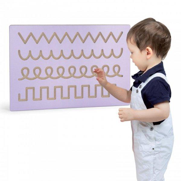 Nauka Rysowania Szlaczki Wzorki Tablica Edukacyjna Viga Toys