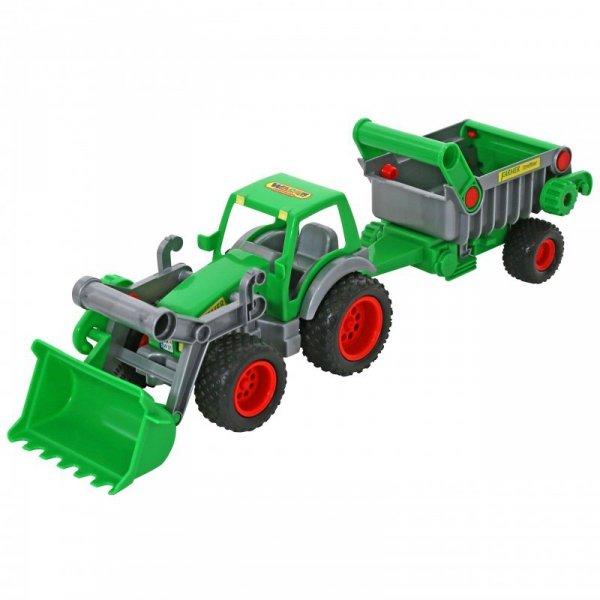 Wader QT Traktor Ładowarka Gigant z Wywrotką