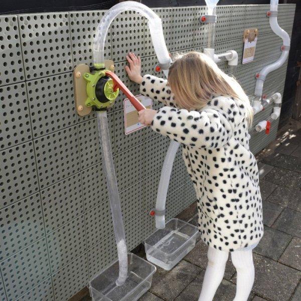 Pompa Wodna Do Zestawu Hydraulicznego - Tablica Naukowo-Kreatywna Masterkidz STEM Wall