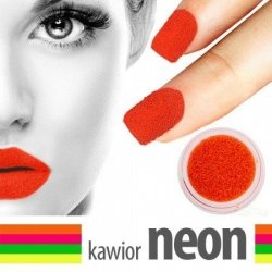 30. Kawior Manicure - Neonowy