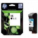 HP oryginalny wkład atramentowy / tusz C6615DE. No.15. black. 500s. 25ml. HP DeskJet 810. 840. 843c. PSC-750. 950. OJ-V40 C6615DE