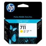 HP oryginalny wkład atramentowy / tusz CZ132A. No.711. yellow. 29ml. HP Designjet T120, T125, T130, T520, T525, T530 CZ132A