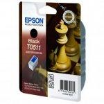 Epson oryginalny wkład atramentowy / tusz C13T051140. black. 900s. 24ml. Epson Stylus Color 800. 850. 1520 C13T05114010