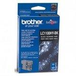 Brother oryginalny wkład atramentowy / tusz LC-1100HYBK. black. 900s. high capacity. Brother DCP-6690CW. MFC-6490CW