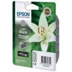 Epson oryginalny wkład atramentowy / tusz C13T059740. light black. 13ml. Epson Stylus Photo R2400 C13T05974010