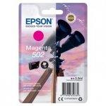 Epson oryginalny ink C13T02V34010, 502, T02V340, magenta, 165s, 3.3ml, Epson XP-5100, XP-5105, WF-2880dwf, WF2865dwf C13T02V34010