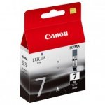 Canon oryginalny wkład atramentowy / tusz PGI7BK. black. 570s. 2444B001. Canon Pixma MX7600 2444B001