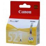 Canon oryginalny wkład atramentowy / tusz CLI521Y. yellow. 505s. 9ml. 2936B001. Canon iP3600. iP4600. MP620. MP630. MP980 2936B001