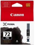 Canon oryginalny wkład atramentowy / tusz PGI72PBK. photo black. 14ml. 6403B001. Canon Pixma PRO-10 6403B001