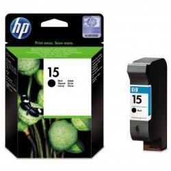 HP oryginalny wkład atramentowy / tusz C6615DE. No.15. black. 500s. 25ml. HP DeskJet 810. 840. 843c. PSC-750. 950. OJ-V40