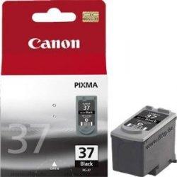 Canon oryginalny wkład atramentowy / tusz PG37. black. 220s. 11ml. 2145B008. 2145B003. 2145B007. blistr z ochroną. Canon iP1800 2145B008