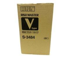 Riso oryginalny matryca S-3484. Riso V 8000. A3. cena za 1 sztukę