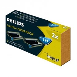 Philips oryginalny folia do faxu PFA 324, 2*150str., Philips PPF 411, 441, 456, 470, 471, 476, 480, 481