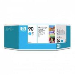 HP oryginalny wkład atramentowy / tusz C5061A. No.90. cyan. 400ml. HP DesignJet 4000. 4000ps. 4500 C5061A