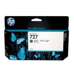 HP oryginalny wkład atramentowy / tusz B3P22A. No.727. matte black. 130ml. HP DesignJet T1500. T2500. T920