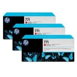 HP oryginalny wkład atramentowy / tusz CR251A. chromatic red. 3x775ml. No.771. HP 3-Pack. Designjet Z6200