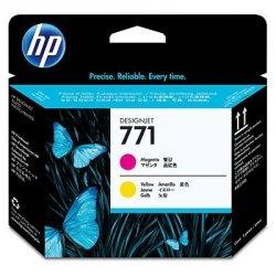 HP oryginalna głowica drukująca CE018A. No.771. magenta/yellow. HP Designjet Z6200