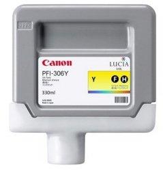 Canon oryginalny wkład atramentowy / tusz PFI306Y. yellow. 330ml. 6660B001. ploter iPF-8300 6660B001