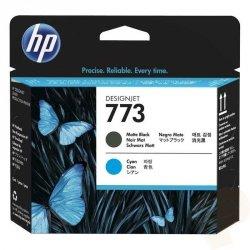 HP oryginalny głowica drukująca C1Q20A, No.773, matte black/cyan, HP Designjet Z6600 Production