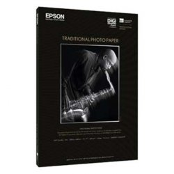 Papier do plotera Epson Traditional Photo Paper. 610mmx914mm. 25-pack. C13S045053. 330 g/m2. papier. biały. do drukarek atramentowych. papier C13S045053