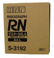 Riso oryginalny matryca S-3192. Riso RN. A4. cena za 1 sztukę