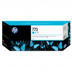 HP oryginalny wkład atramentowy / tusz CN636A, No.722, cyan, 300ml, HP