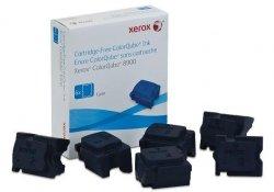 Xerox oryginalny wkład atramentowy / tusz 108R01022. cyan. 16900s. 6szt. Xerox ColorQube 8900 108R01022