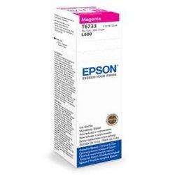 Epson oryginalny wkład atramentowy / tusz C13T67334A. magenta. 70ml. Epson L800