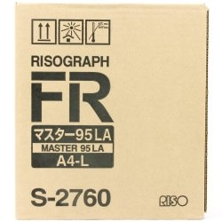 Riso oryginalny matryca S-2760. Riso FR. A4. cena za 1 sztukę