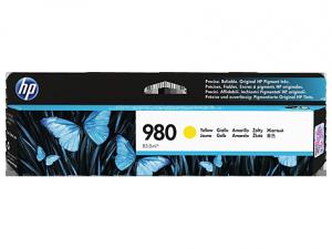 HP oryginalny wkład atramentowy / tusz D8J09A. No.980. yellow. HP HP OfficeJet Enterprise X585. X555 D8J09A