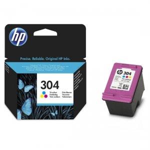 HP Wkład atramentowy 304 Tri-color N9K05AE#BA3