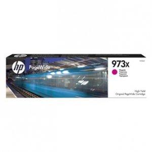 HP oryginalny wkład atramentowy / tusz F6T82AE. No.973X. magenta. 7000s. 82ml. HP PW Managed MFP P57750dw. P55250dw.PW Pro452dn.477d F6T82AE