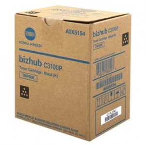 Konica Minolta oryginalny toner A0X5154. black. 5000/4700s. TNP-50K. Konica Minolta Bizhub C3100P A0X5154