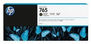 HP 765 Matte Black 775ml. oryginalny wkład atramentowy / tusz do plotera Designjet T7200 czarny matowy F9J55A