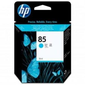 HP oryginalny wkład atramentowy / tusz C9425A. No.85. cyan. 28ml. HP DesignJet 30. N. GP. DesignJet 130. NR. GP C9425A