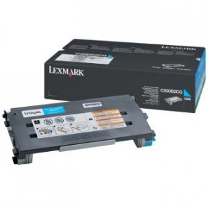 Lexmark oryginalny toner C500S2CG. cyan. 1500s. return. Lexmark C500 C500S2CG