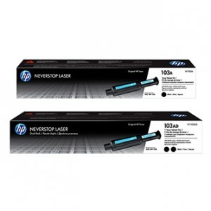 HP oryginalny Neverstop Toner Reload Kit W1103AD, black, HP 103AD, HP Neverstop Laser MFP 1200, Neverstop Laser 1000, dual pack W1103AD
