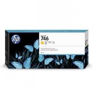 HP oryginalny ink P2V79A, HP 746, yellow, 300ml, HP HP DesignJet Z6, Z9+ P2V79A
