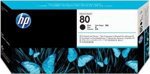 HP oryginalna głowica drukująca C4820A. No.80. black. 17ml. HP DesignJet 1050C. 1055CM C4820A