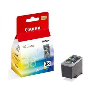 Canon oryginalny wkład atramentowy / tusz blistr z ochroną. CL38. color. 207s. 9ml. 2146B008. 2146B003. Canon iP1800 2146B008