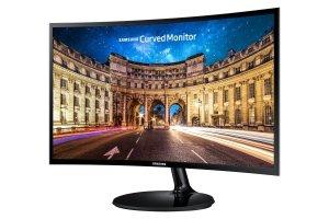 SAMSUNG Monitor S27E650C/27''LED Curved 1080p DVI DP bk LS27E65KCS/EN