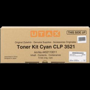 Utax oryginalny toner 4452110011. cyan. 4000s. Utax CLP 3521 4452110011