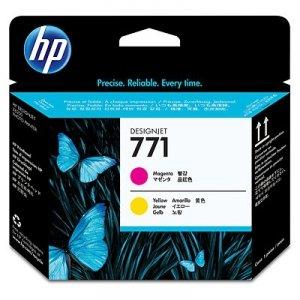 HP oryginalna głowica drukująca CE018A. No.771. magenta/yellow. HP Designjet Z6200 CE018A