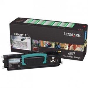 Lexmark oryginalny toner E450H11E. black. 11000s. return. Lexmark E450 E450H11E