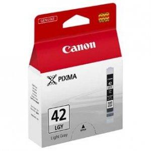 Canon oryginalny wkład atramentowy / tusz CLI-42LGY. light grey. 6391B001. Canon Pixma Pro-100 6391B001