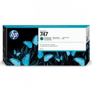 HP oryginalny ink P2V84A, HP 747, chromatic green, 300ml, HP HP DesignJet Z9 P2V84A