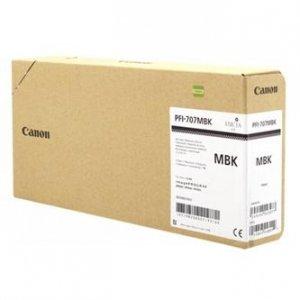Canon oryginalny wkład atramentowy / tusz PFI-707MBK. matte black. 3x700ml. 9820B003. ploter iPF-830.840.850 9820B003